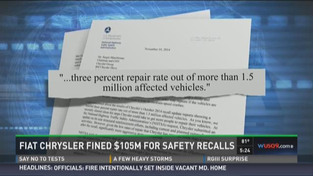 Fiat Chrysler forced into biggest vehicle buyback ever