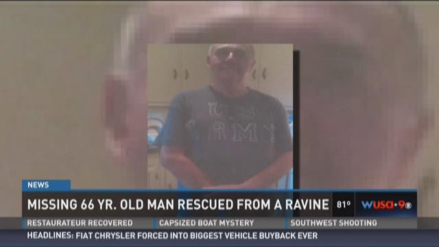 Missing Md. man found trapped under tree