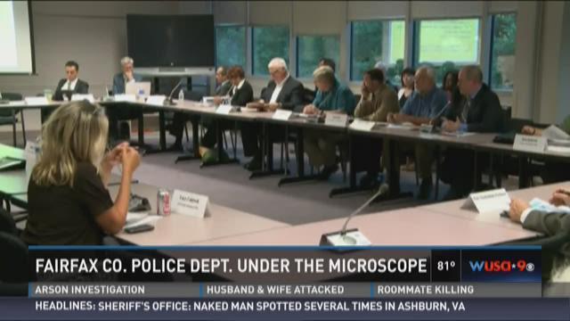 Fairfax Co. police under the microscope