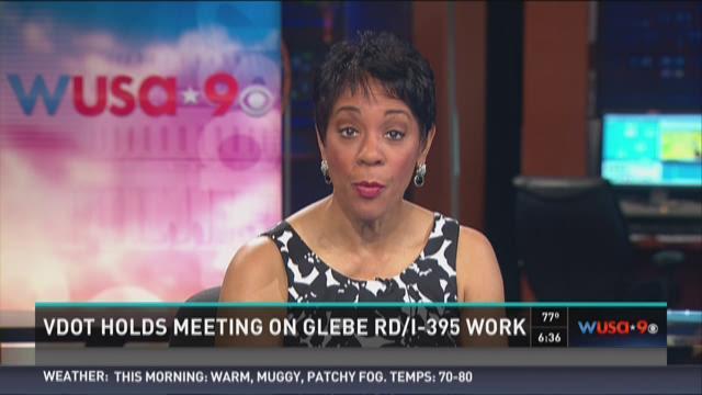 VDOT holds meeting on Glebe Rd/I-395 work