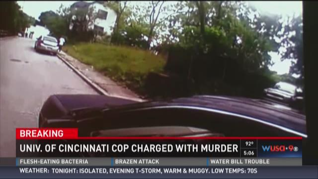 A University of Cincinnati police officer was indicted Wednesday