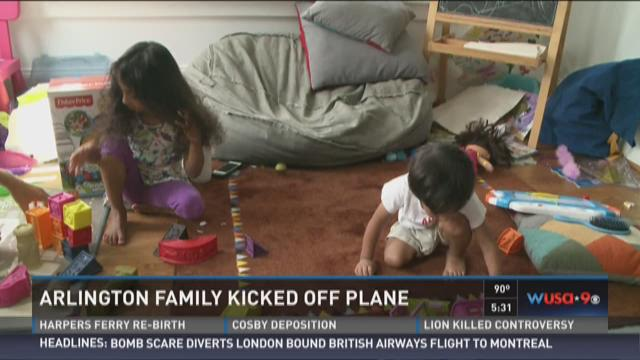 Va. family says they were unfairly kicked off flight