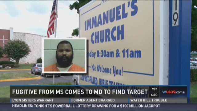Mississippi man walks into Maryland church with gun