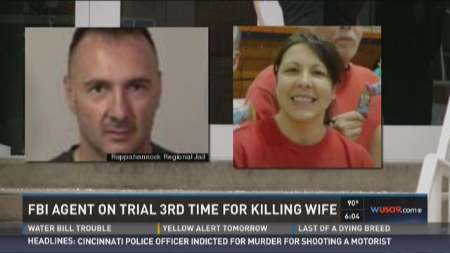 Ex-FBI agent on trial for 3rd time in wife's death