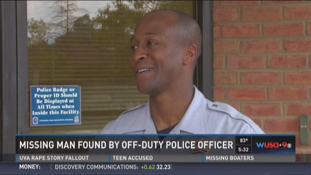 FOUND: Missing elderly man ends up at house of off-duty officer
