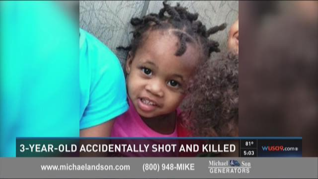 Police say a 3-year-old was accidentally shot by a