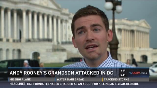 Andy Rooney's grandson attacked near U St