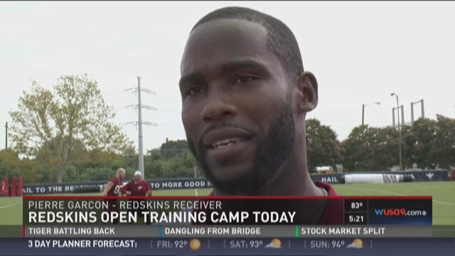 Redskins open training camp Thursday