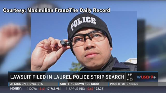 Laurel police deny public strip search charge