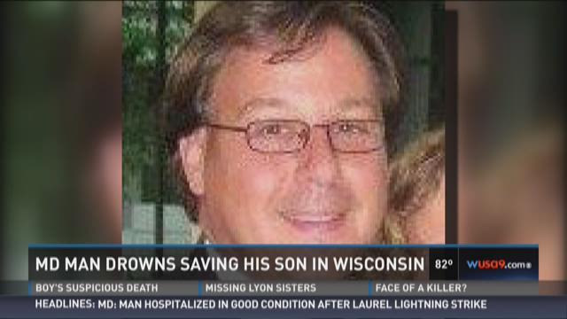 Maryland man drowns trying to save son