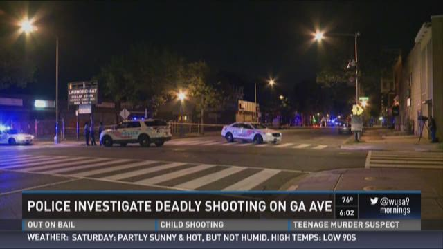 Police investigate deadly shooting on Georgia Ave