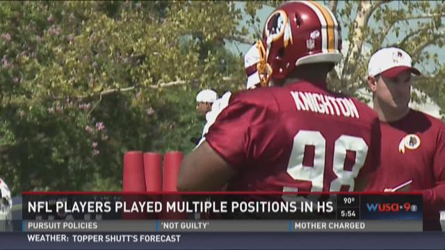 Redskins wrap up day 2 at training camp