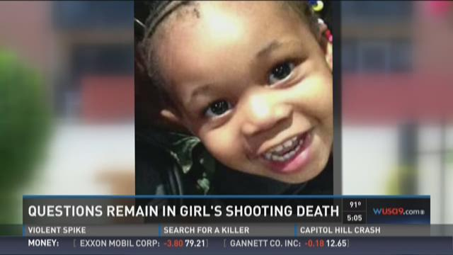 Questions remain in girl's shooting death