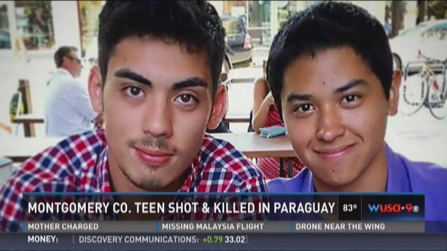 Montgomery Co. teen shot and killed in Paraguay