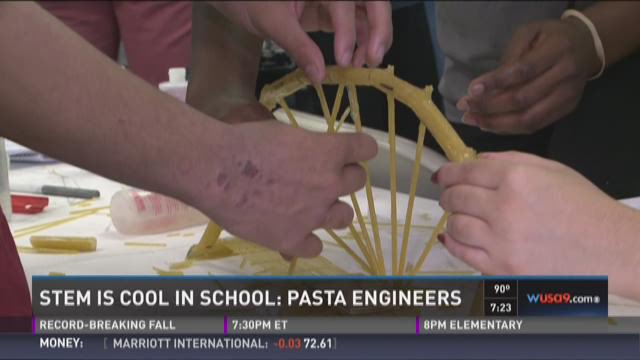 STEM IS COOL: Pasta engineers