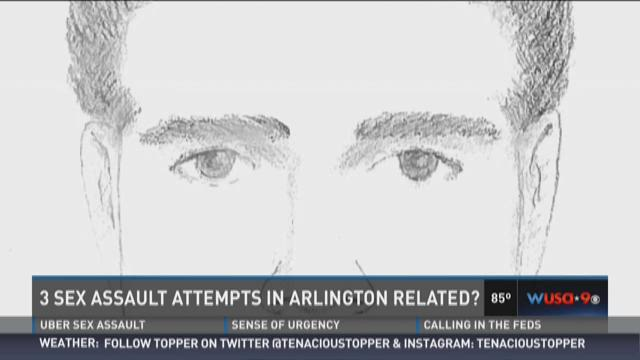 3 sex assault attempts in Arlington related?