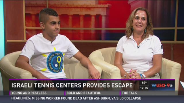 Israeli Tennis Centers provide escape