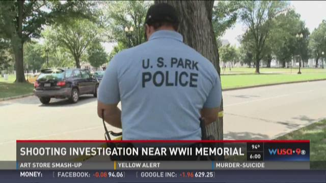 Shooting investigation near WWII Memorial
