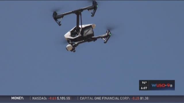 Drones powered by police demonstrated in St. Mary's Co.