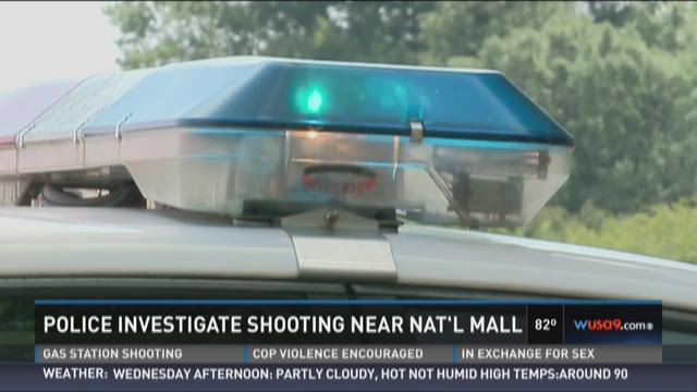 Police investigate shooting near National Mall