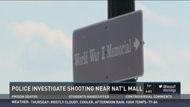 Shooting near National Mall under investigation