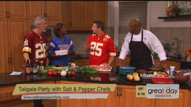 Salt and Pepper Grill TNF Tailgate BBQ