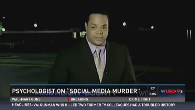 Psychologist: Killer of WDBJ TV crew was 'troubled'