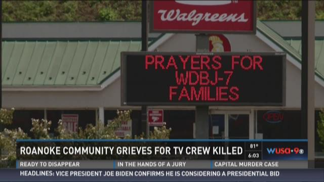 Roanoke Community grieves for TV crew killed