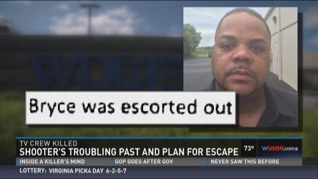 WDBJ shooter's troubled past, evidence of escape plan, emerge