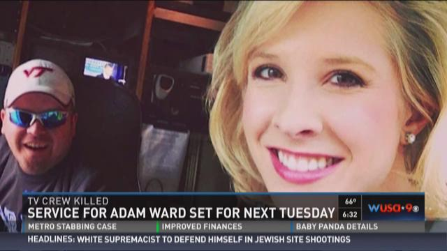 Service set for Adam Ward