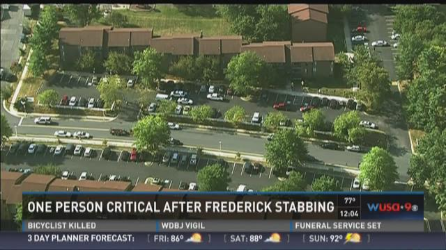1 person in critical condition after Frederick stabbing