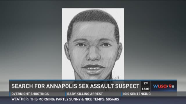 Search for Annapolis sex assault suspect