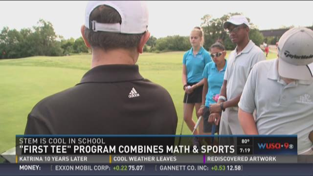 First 'Tee' Program combines math & sports