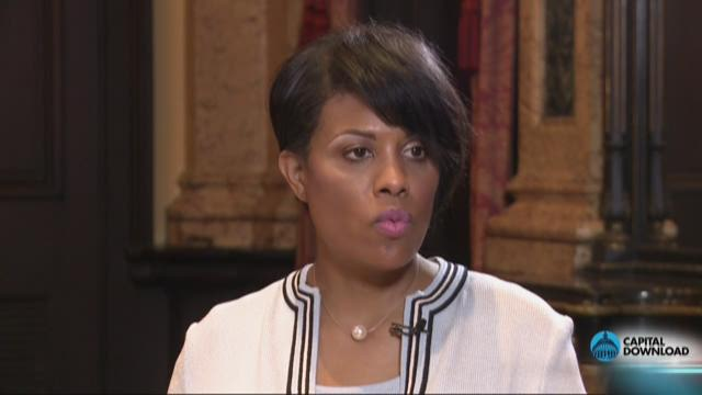 Baltimore Mayor Stephanie Rawlings-Blake on how to ease tension in Baltimore.