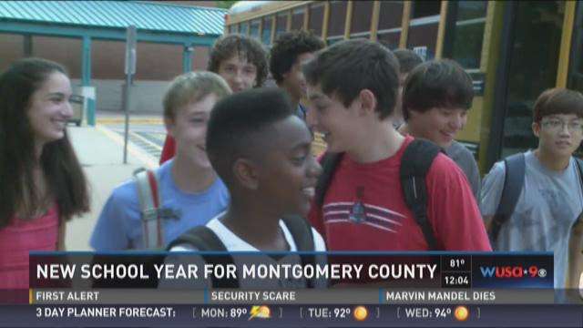 New school year for Montgomery County