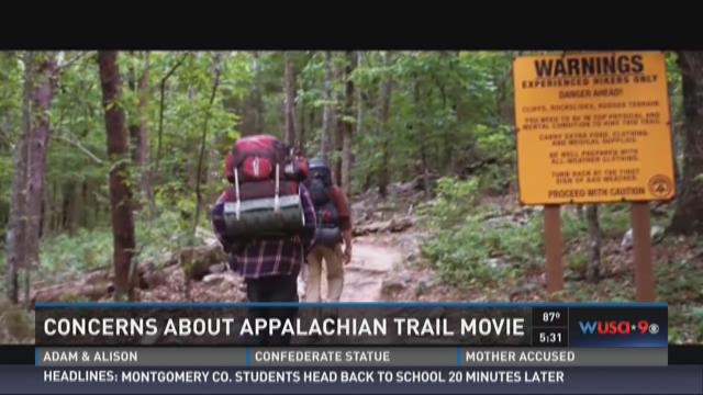 Concerns about Appalachian Trail movie