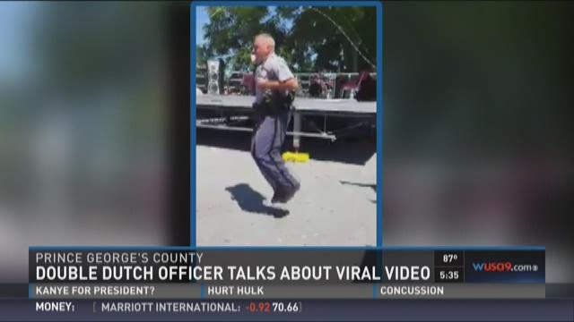 Double Dutch officer talks about viral video