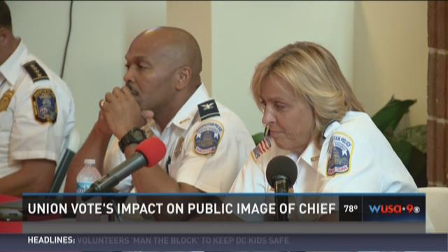 Union vote's impact on public image of Chief