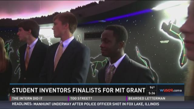 Student inventors finalists for MIT grant
