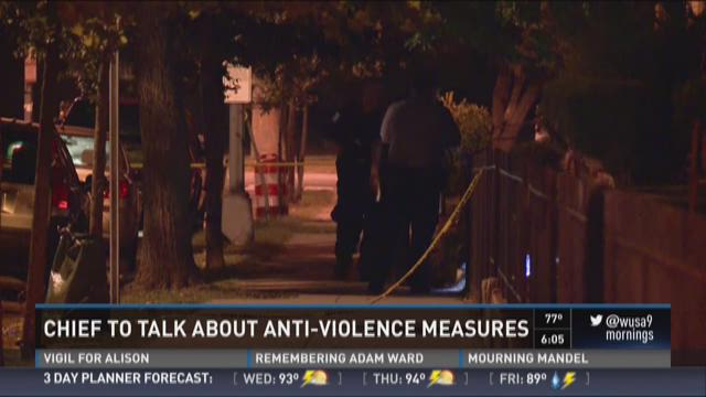 DC police chief to hold meeting on anti-violence efforts