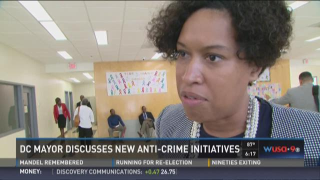 DC police chief to talk about anti-violence measures