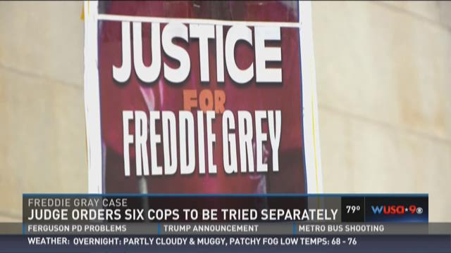 Three key decisions in Freddie Gray case