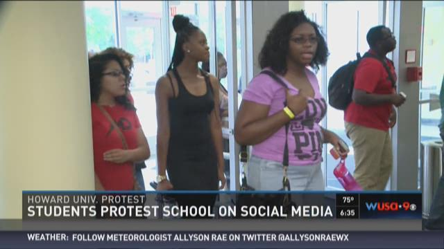 TakeBackHU: Students protest school on social media