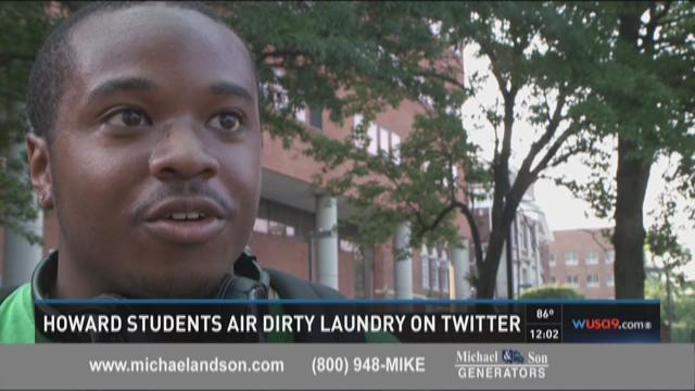 Howard students air dirty laundry on Twitter