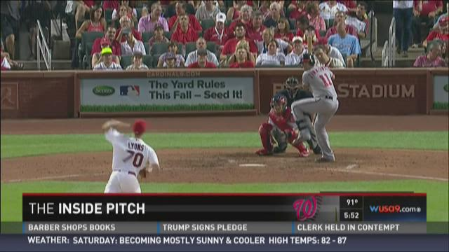 Thursday night's Inside Pitch