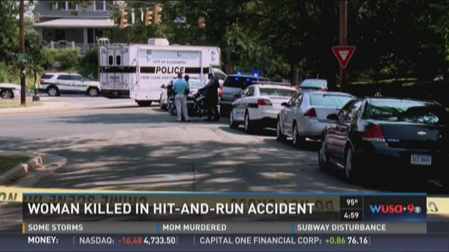 Driver ID'd in fatal Alexandria hit and run crash