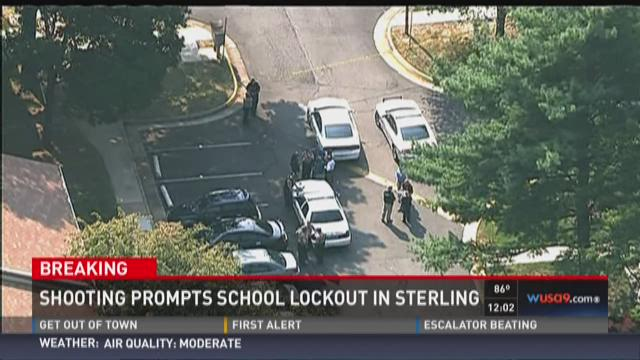 Shooting prompts school lockout in Sterling
