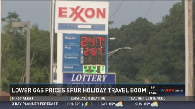 Gasoline prices lowest since 2004 heading into Labor Day
