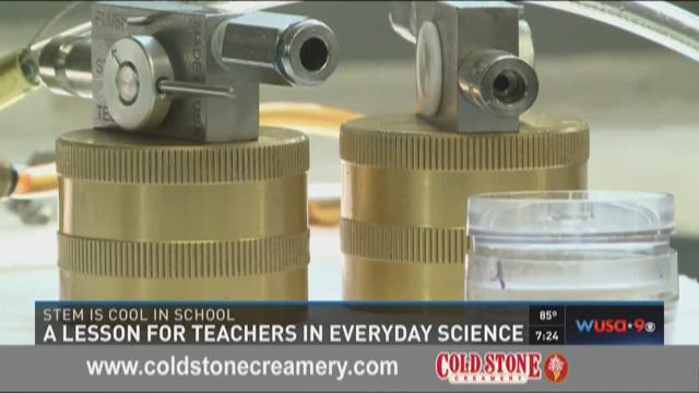A lesson for teachers in everyday science