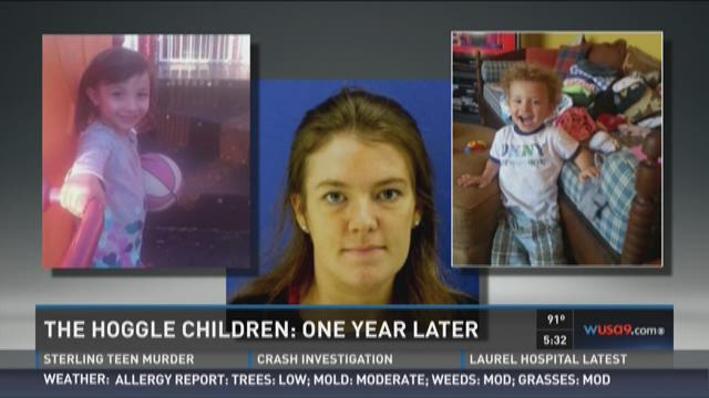 Hoggle kids' disappearance marks one year